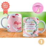 Mugs día de la mujer