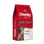 Chunky Gatos Salmón y Cordero x 8 Kilos